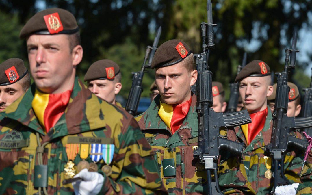 Question au ministre Goffin sur la remise de médailles honorifiques pour les militaires