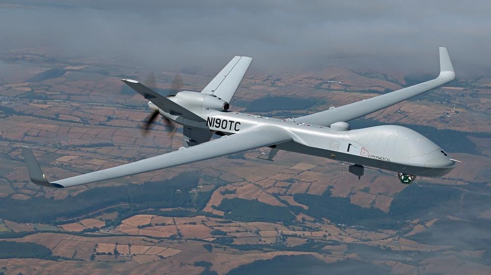 Drones MQ-9B sur la Base de Florennes